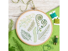 forest ferns embroidery kit 1
