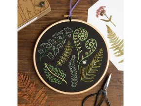 black forest ferns embroidery kit 3