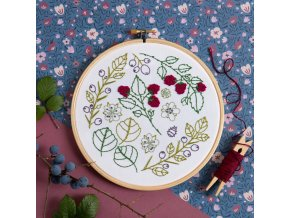blackthorn bramble embroidery kit 1