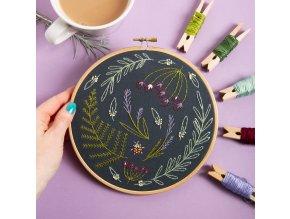 black wildwood embroidery kit 1