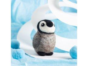 baby penguin mini needle felting kit 1