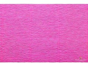 Krepový papír růžový 551