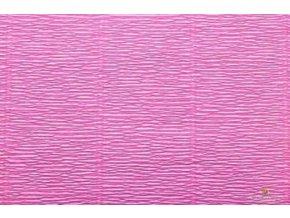 Krepový papír růžový 550