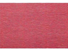 Krepový papír červený 547