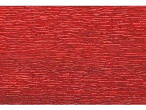 Krepový papír tmavě červený 583
