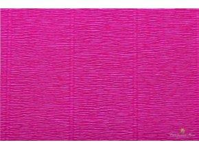 Krepový papír tmavě růžový 552