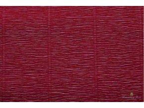 Krepový papír tmavě fialový 588