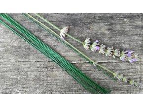 Floristický vázací drát zelený 1 mm 10 ks