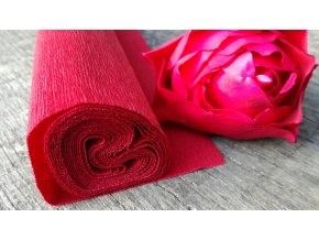 Krepový papír  90g Burgundy Red 364