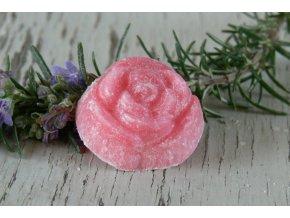 Vonný vosk ve tvaru růže - 4 ks v balení - vůně šampaňské, růže