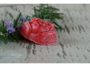 Vonný vosk ve tvaru růže - 4 kusy v balení - vůně jablečný koláč (apple pie)