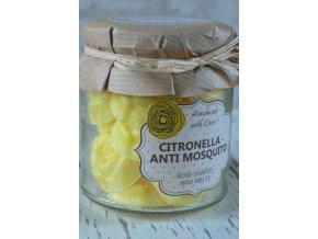 Citronella - vonné vosky s vůní citrónu - balení 18 kusů