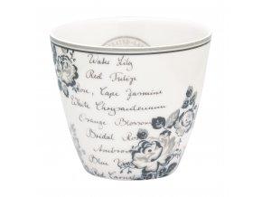 Porcelánový hrnek na kávu a čaj Dora white
