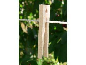 Dřevěný kolíček bukový retro délka 9 cm