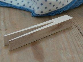 Dřevěný kolíček bukový retro délka 11 cm
