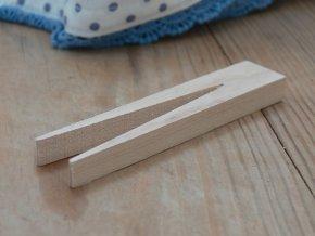Dřevěný kolíček bukový retro