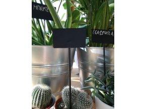 Zápich k rostlinám kovový