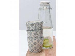 Skleněná lahev s keramickým víčkem 800 ml