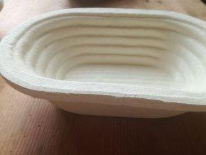 Forma na chleba  750 g, ovál, vzor proužky