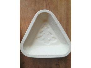 Forma na  chleba, trojhranná, vzor strom, 750 g