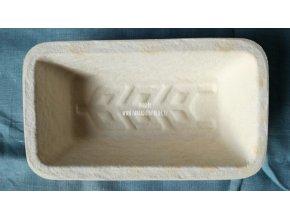 Forma na chleba, hranatá, vzor klas, 750 g