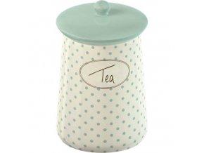 Porcelánová dóza Tea