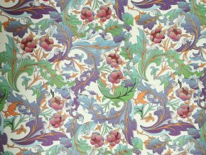 Dekorační papír květy II