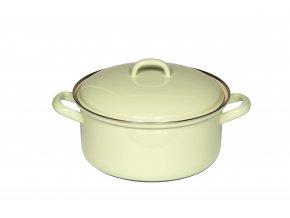 CLASSIC Pastell Bunt Kasserolle mit Deckel 16cm gelb 0278 006