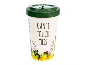 woodway opakovane pouzitelny kelimek na kavu z prirodniho materialu zelenadomacnost cactus green