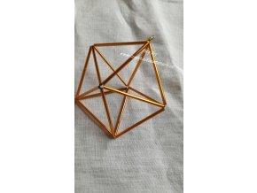 Himmeli ze skla  - pětiúhelník