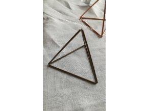 Himmeli - trojúhelník mosaz