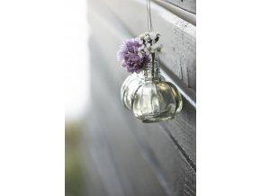37406 miniaturni zavesne vazicky clear vase o 3 9 cm