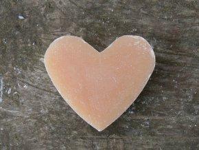 Mýdlo ve tvaru srdce vůně kdoule