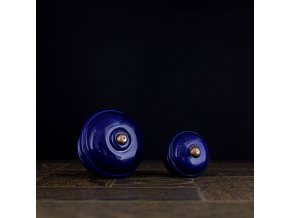 Knopka velká kobalt hladká