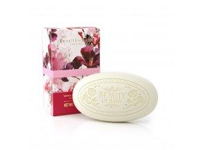 beauty of bath 150g soap bar vanilla baies rouges