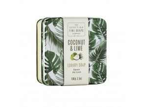 A01852 Coconut Soap in a Tin