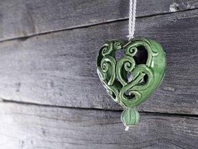 srdce zelene