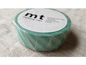 mt washi páska stripe mint