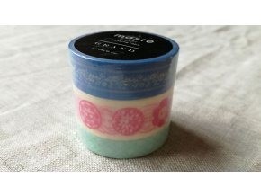 mt art tape set button pink