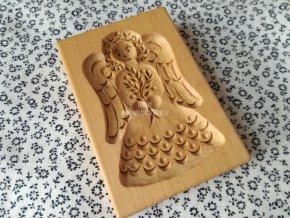 Forma na perník anděl
