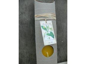 Čajová svíčka dárková - vanilka