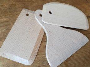Dřevěná špachtle