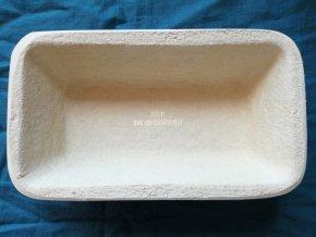 Forma na kynutí chleba, hranatá,  750 g