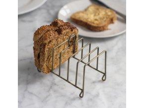 garden trading steel toast rack antique brass p16521 43567 image