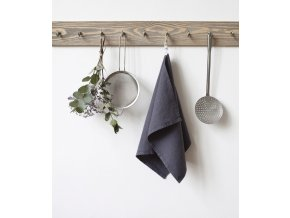 Dark Grey Kitchen Towel In
