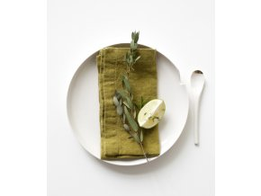 Moss Green Napkins In