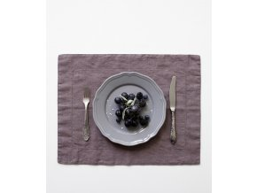 Ashes of Roses Placemat Hemstich In
