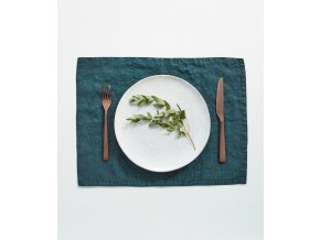 Deep Water Placemat by Linen Tales (1)