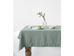 Green Milieu Tablecloth