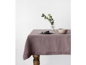 Ashes of Roses Tablecloth Hemstich In